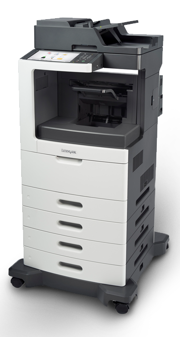 The Lexmark XM-7155 is the office tool for small size and growing work groups looking for super easy to use and highly reliable multifunctional printer. The ability to process several jobs simultaneously means that users on a network lose no time waiting for jobs to complete, while a range of optional enhancements provides scope for further efficiency and flexibility. Even compatitble with IOS devices! Service Business Equipment can service, rent or repair this copier and many other copiers, copy machines, printers and scanners.